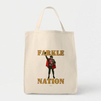 Farkle Nation Tote Bag