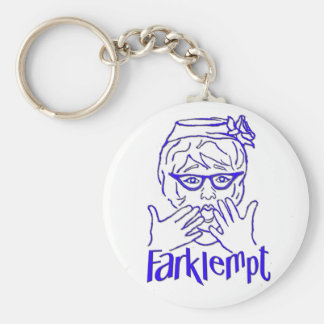 Farklempt Keychains