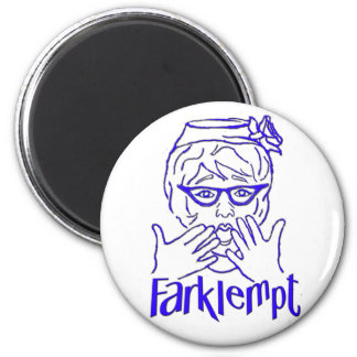 Farklempt Fridge Magnet