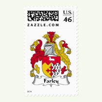 Farley Family Crest Stamps