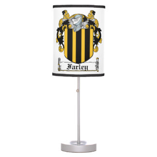 Farley Family Crest Table Lamps
