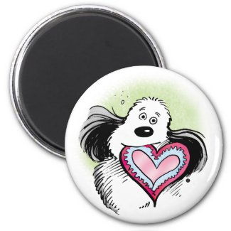 """Farley Loves You"" Magnet"