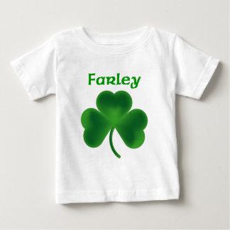 Farley Shamrock Baby T-Shirt