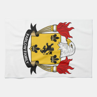 Farlow Family Crest Hand Towels