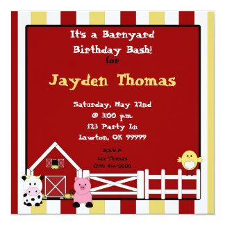 ¡farm2 la copia, es un golpe del cumpleaños del invitación personalizada