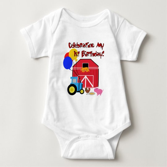 Farm 1st Birthday Tshirts and Gifts