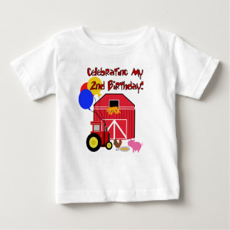 Farm 2nd Birthday Infant T-shirt