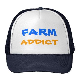 FARM ADDICT Designs By Che Dean Trucker Hats