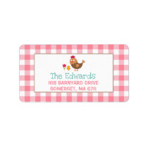 Farm Address Labels Farm Yard Birthday Party