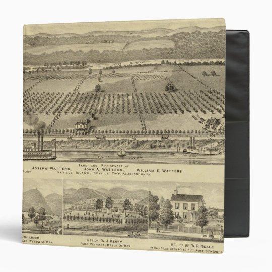 Farm and residences of Joseph 3 Ring Binder