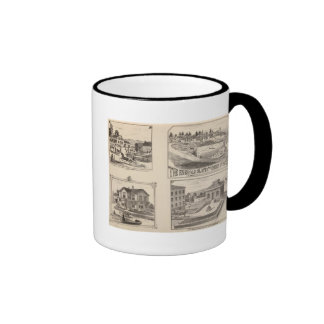 farm and waterworks in Hydeville Mugs