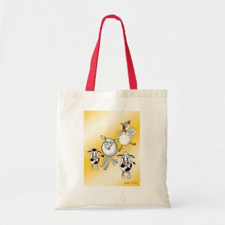 Farm animal bag. tote bag