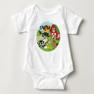 Farm Animal Birthday T-Shirt