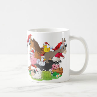 Farm Animal Christmas Coffee Mug