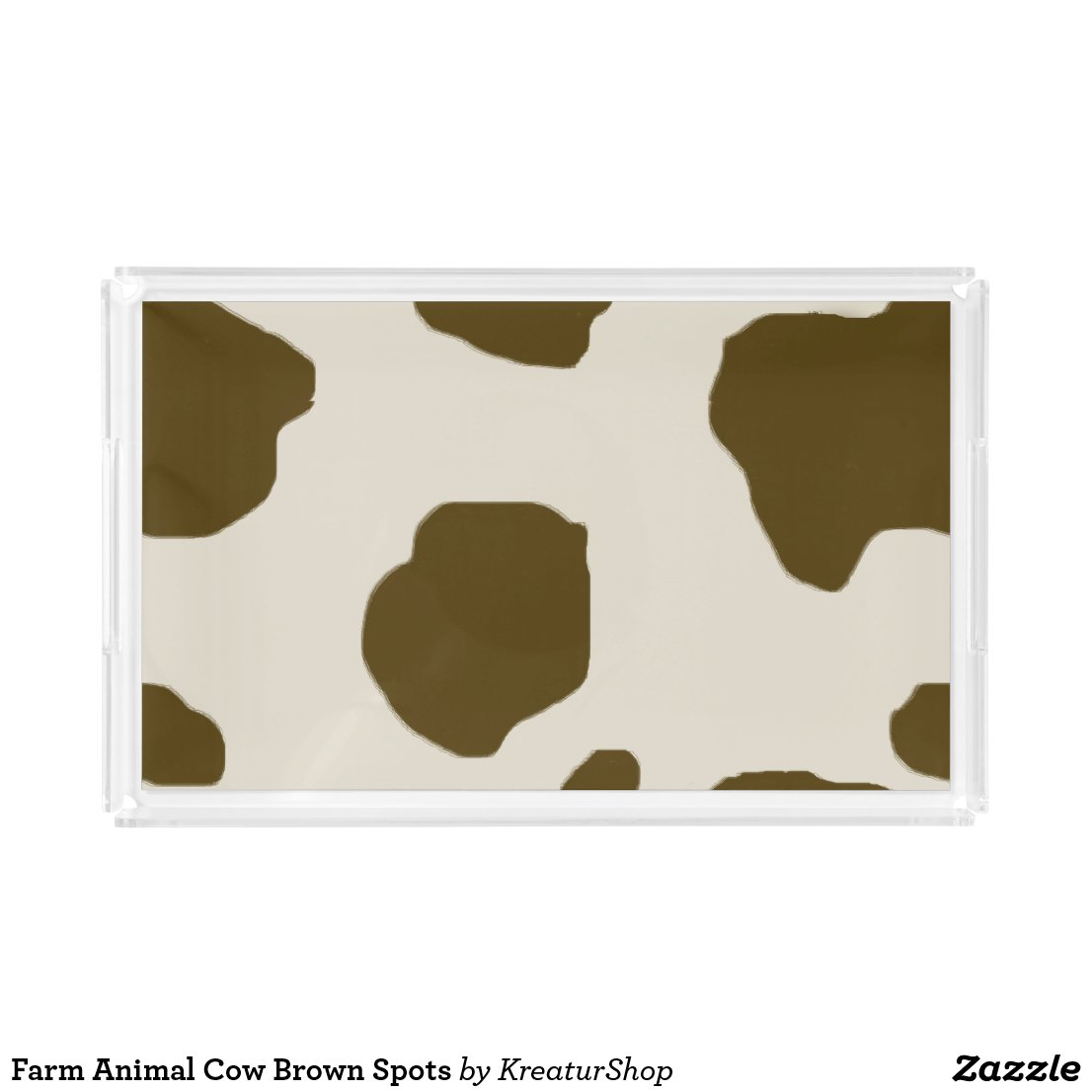 Farm Animal Cow Brown Spots