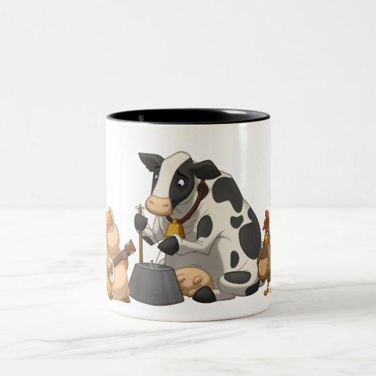 Farm Animal Jug Band Mug