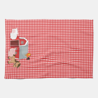 Farm Animal Kitchen Towel