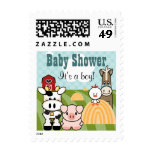 Farm Animal Postage Stamps