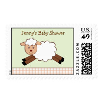Farm Animal Sheep Lamb Custom Postage Stamps