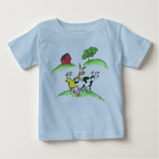 Farm Animal T-Shirt for Baby
