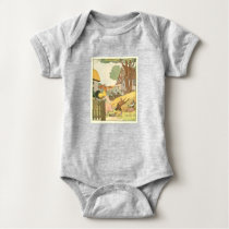 Farm Animals Baby Bodysuit