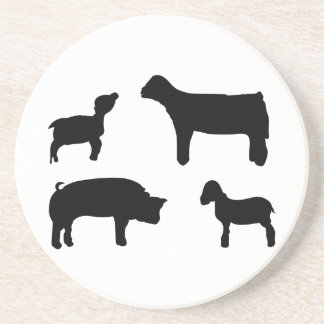 Farm Animals Coaster