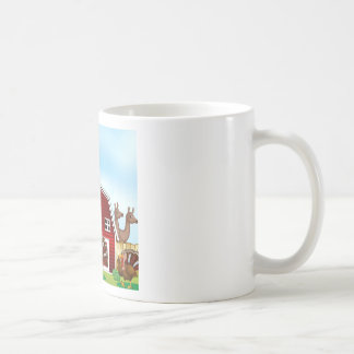 Farm animals coffee mug