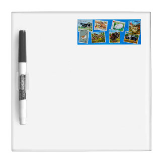 FARM ANIMALS / Colorful depictions Dry-Erase Board