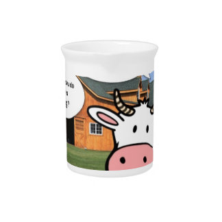 Farm animals cute cartoon funny facebook chat beverage pitchers