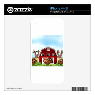 Farm animals decals for iPhone 4S