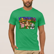 Farm Animals Folk Art Shirt
