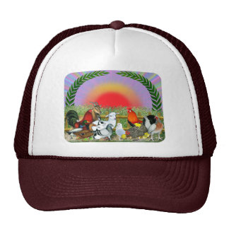 Farm Animals Mesh Hats