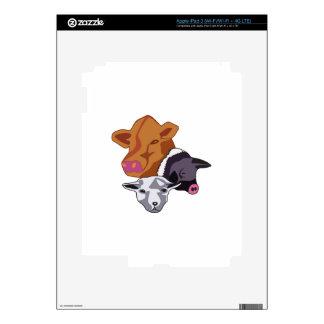Farm Animals iPad 3 Skins