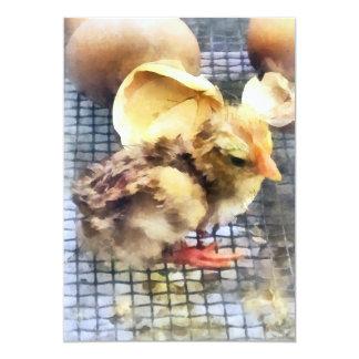 Farm Animals - Just Hatched Custom Invitations