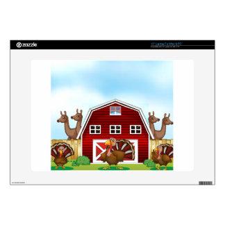 Farm animals laptop decal