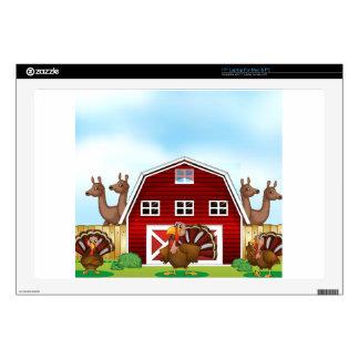 Farm animals skin for laptop