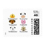 Farm Animals Sounds Stamp
