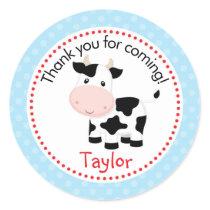 Farm Animals Stickers (Blue for Boys)