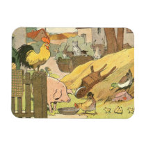 Farm Animals Story Book Illustrated Magnet
