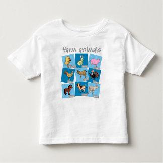 Farm Animals Toddler T-shirt