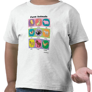 Farm Animals Tee Shirts