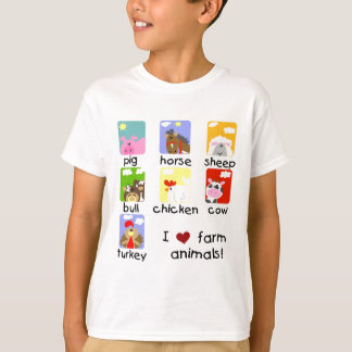 Farm Animals Tshirts and Gifts