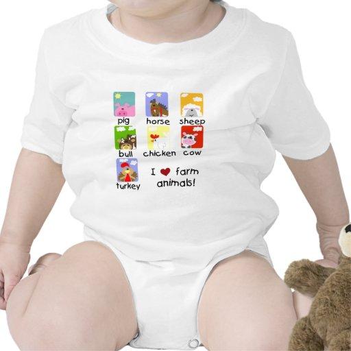 Farm Animals Tshirts and Gifts