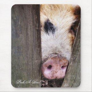 FARM ANIMALS UK mousepad