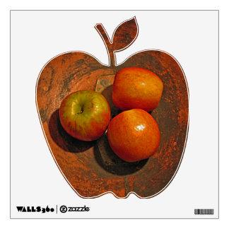 Farm apples decal wall skins