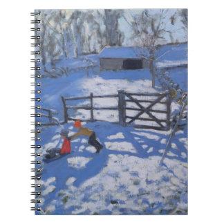 Farm at Elton near Rowsley 2008 Notebook