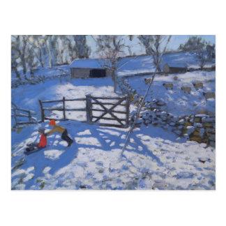 Farm at Elton near Rowsley 2008 Postcard