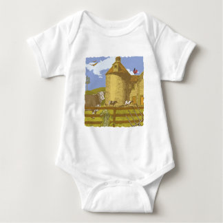 Farm Baby Bodysuit