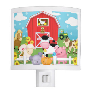Farm Baby Night Light