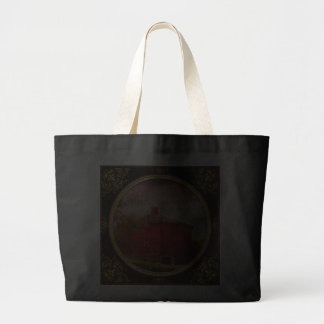 Farm - Barn - Red round barn Canvas Bags